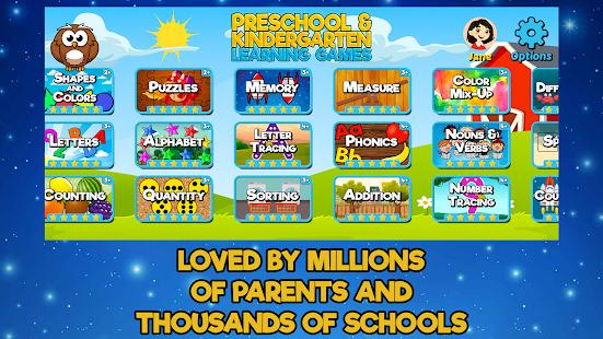 Preschool and Kindergarten Learning Games 6.8 screenshots 4