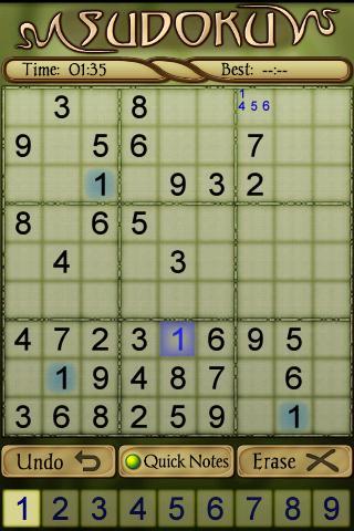 Sudoku Free 1.52 screenshots 6