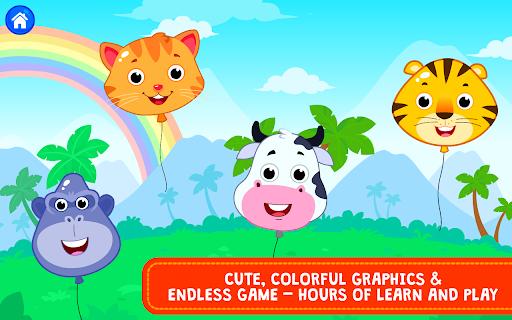 Balloon Pop : Preschool Toddlers Games for kids apkdebit screenshots 4