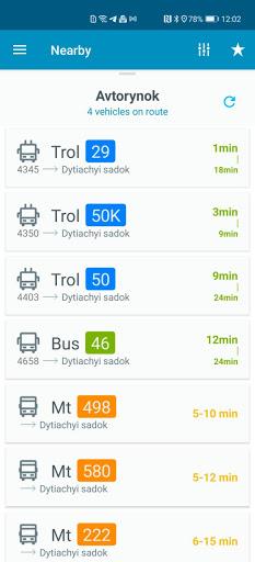 EasyWay public transport  screenshots 3