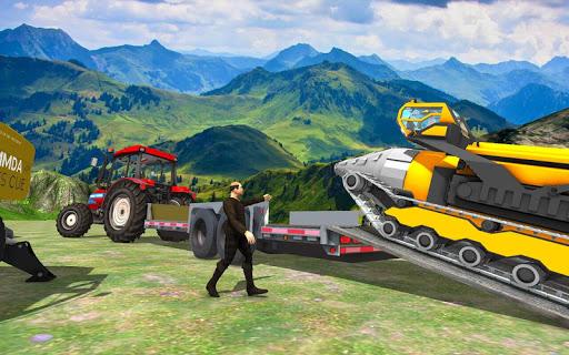 Farming Tractor construction Vehicles Transport 20 apktreat screenshots 2