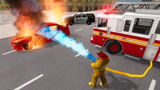 Fire Truck Driving Simulator 1.34 Screenshots 5