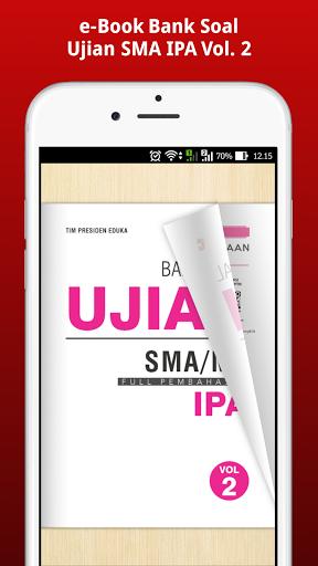 e-Book Bank Soal Ujian SMA IPA Vol. 2  screenshots 3