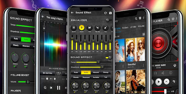 Music Player - Audio Player with Best Sound Effect screenshots 9