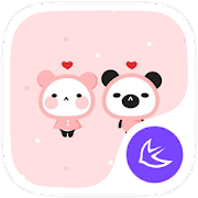 Cute Panda Baby theme & HD wallpapers