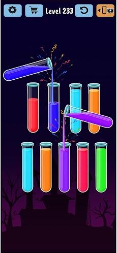Color Water Sort Puzzle: Liquid Sort It 3Dのおすすめ画像2
