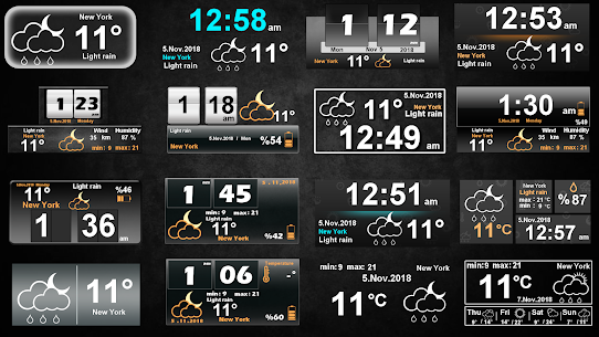 Weather Clock 3