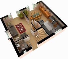 Free 3D Home Plansのおすすめ画像3