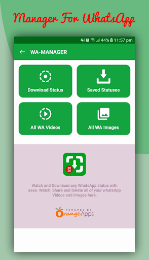 Status Saver - WA status & video downloader  screenshots 3