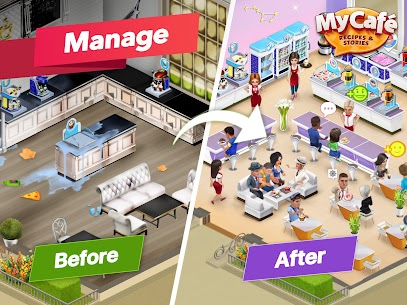 Download My Cafe Recipes & Stories Mod Apk [Unlimited Money/Coins] 4
