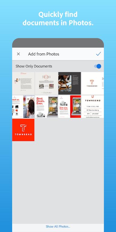 Adobe Scan: PDF Scanner with OCR, PDF Creator  poster 7