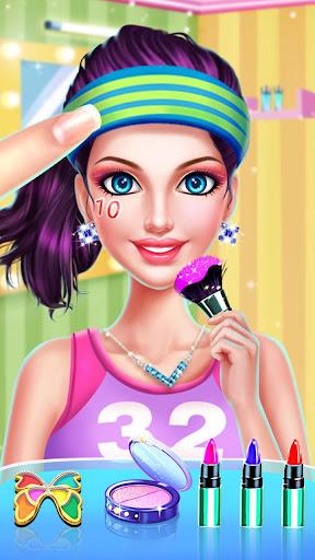 👧👗Sports Girl Makeup - Keep Fit  screenshots 1