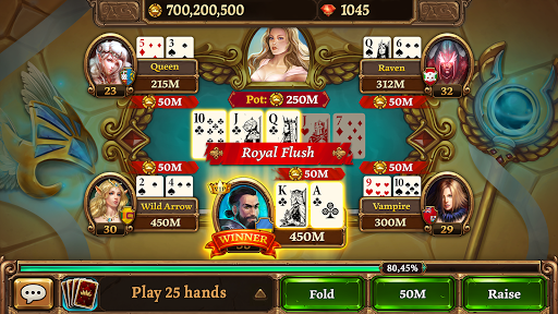 Play Free Online Poker Game - Scatter HoldEm Poker screenshots 20