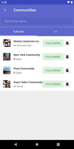 LumApps screenshot 4