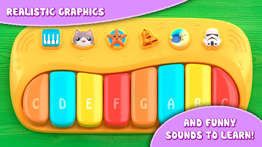 Piano for babies and kids 1.3 screenshots 2
