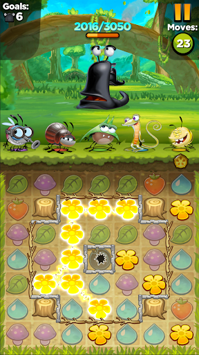 Best Fiends - Free Puzzle Game apkpoly screenshots 7