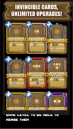 Gambit Dungeon:RPG Card Game & Roguelike Battles screenshots 6