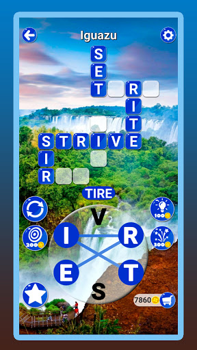 Around the Word: Crossword puzzle screenshots 3