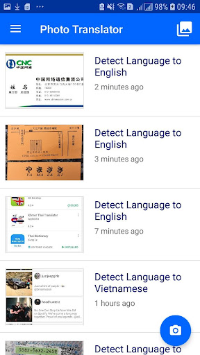 Photo Translator - translate pictures by camera 8.1.7 screenshots 2