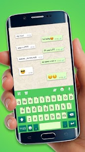 Chatting Messenger Keyboard Theme 1