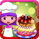 Anna's birthday cake bakery shop - cake maker game