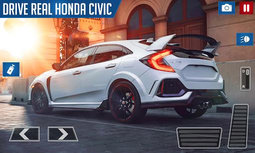 Drifting and Driving Simulator: Honda Civic Game 2 apktram screenshots 4