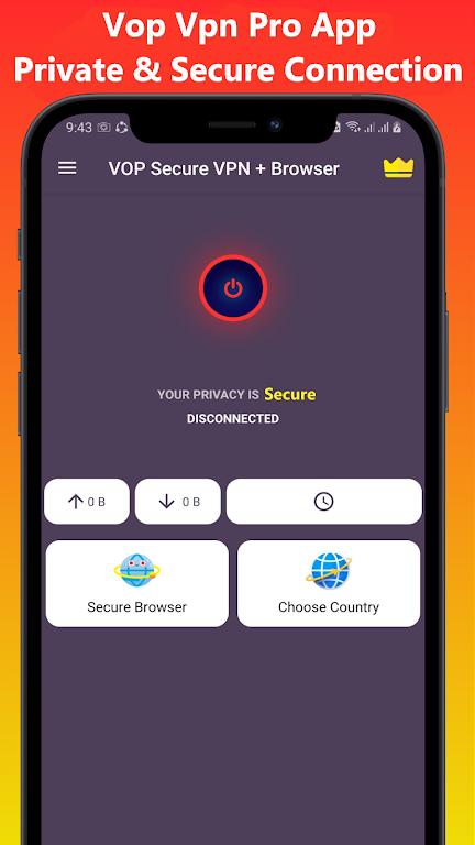 VOP HOT Pro Premium VPN -100% secure Safe Browsing  poster 0