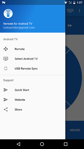 Foto do Remote for Android TV
