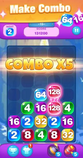 Bubble Merge 2048  screenshots 4