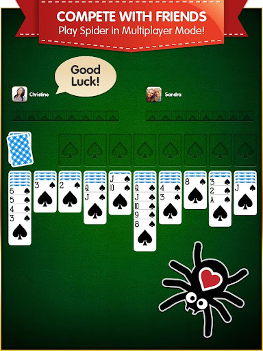 Spider Solitaire (Free, no Ads) 1.1.2 screenshots 7