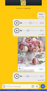 ViChat Messenger - Free video call and voice calls 1.0.16 screenshots 1