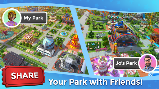 RollerCoaster Tycoon Touch - Build your Theme Park  screenshots 23