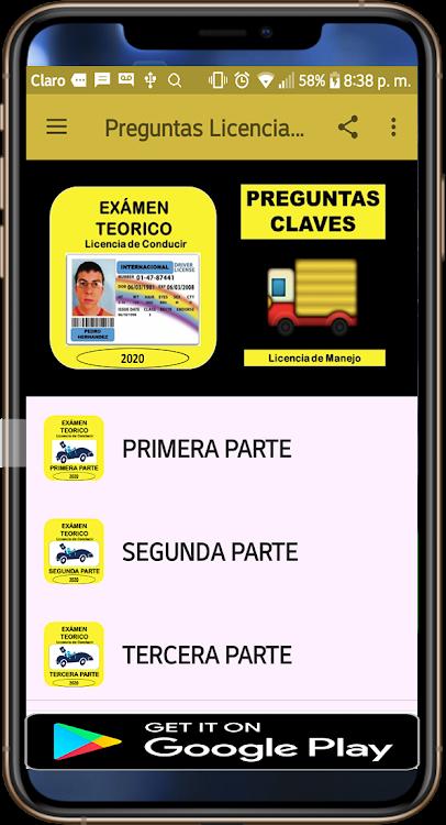 Examen Teorico Licencia De Conducir Preguntas Android Apps Appagg