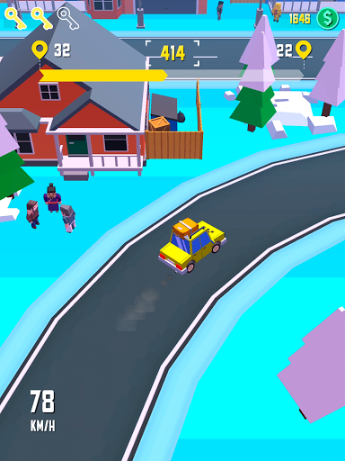 Taxi Run - Crazy Driver 1.30 screenshots 12