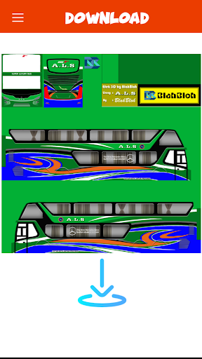 Livery Bussid TNI  Screenshots 5