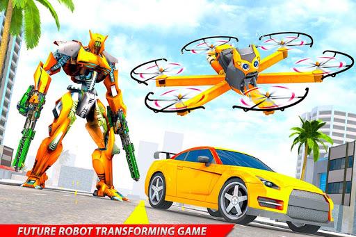 Drone Robot Car Transforming Gameu2013 Car Robot Games 1.1 Screenshots 14