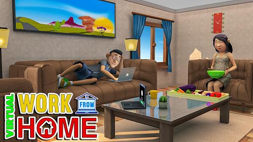 Virtual Work From Home Simulator Apkfinish screenshots 11