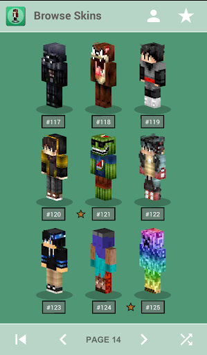 Skins for Minecraft PE 1.4 Screenshots 9