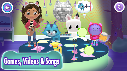 Gabbys Dollhouse: Play with Cats android2mod screenshots 10