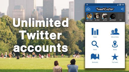 TweetCaster for Twitter 9.4.6 screenshots 2