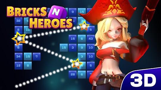 Bricks N Heroes Mod Apk (Unlimited Fairy Stones/Gems) 1