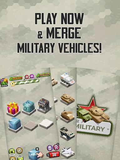 Merge Military Vehicles Tycoon 1.1.4 screenshots 10