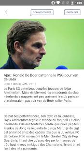 Foot Mercato : transferts, ru00e9sultats, news, live 4.1.58 Screenshots 2