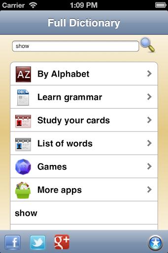 English Dictionary - Offline  screenshots 1
