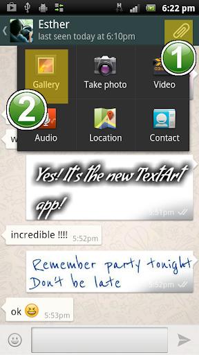 TextArt u2605 Cool Text creator 1.2.2 Screenshots 8