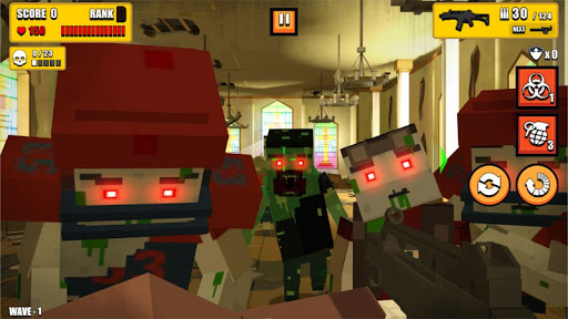 Pixel Zombie Hunter  screenshots 4