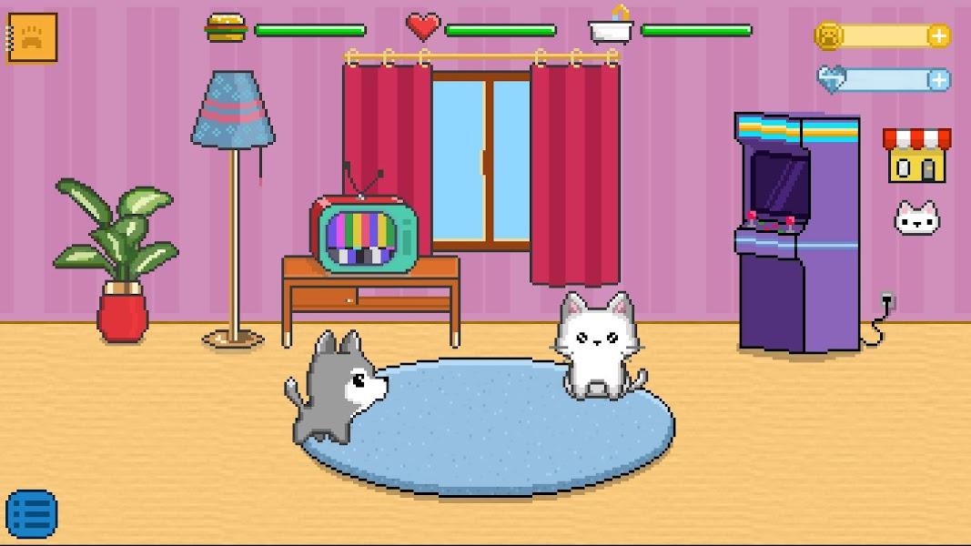 Fluffy Pixels - Virtual Pet