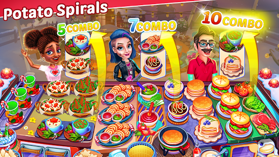 Christmas Cooking : Crazy Food Fever Cooking Games Screenshot