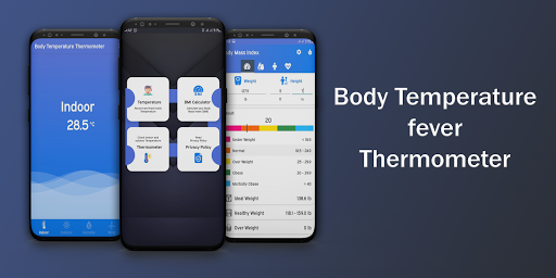 Body Temperature Fever Thermometer Records Diary  screenshots 1