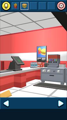 無料脱出ゲーム:ハンバーガーショップからの脱出!あそびごころのある簡単な脱出ゲームのおすすめ画像3